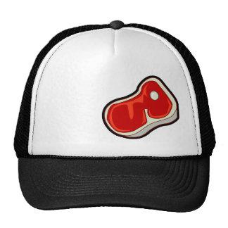 Butcher's Steak; Black Trucker Hat