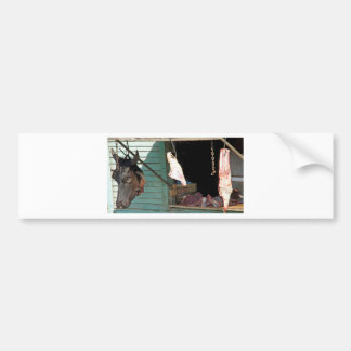 butchershop bumper sticker