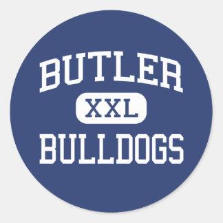 Butler - Bulldogs - Junior - Waukesha Wisconsin Classic Round Sticker