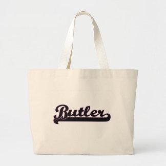 Butler Classic Job Design Jumbo Tote Bag