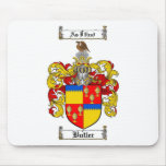BUTLER FAMILY CREST -  BUTLER COAT OF ARMS MOUSE PAD