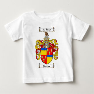 BUTLER FAMILY CREST -  BUTLER COAT OF ARMS T SHIRT