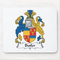 Butler Family Crest Mousepad