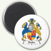 Butler Family Crest Magnet