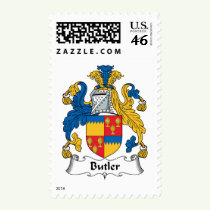 Butler Family Crest Stamps