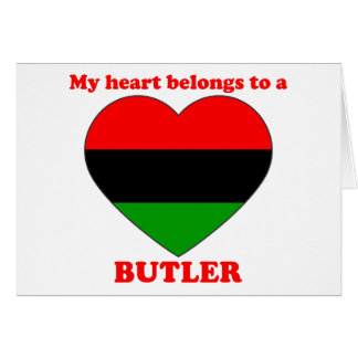Butler Greeting Cards