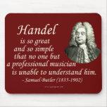 Butler on Handel Mouse Mat