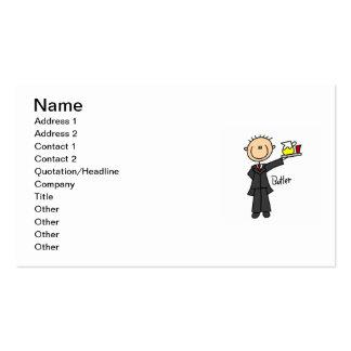 Butler Stick Figure Business Card