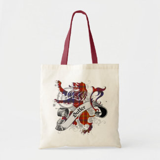 Butler Tartan Lion Budget Tote Bag