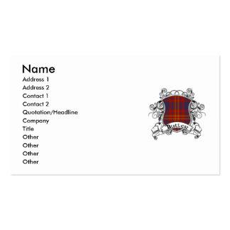 Butler Tartan Shield Business Cards