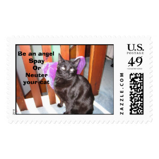 Butler the Angel Postage Stamp