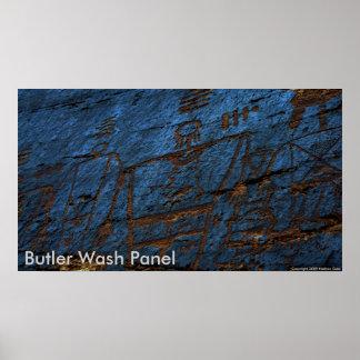 Butler Wash Panel Poster
