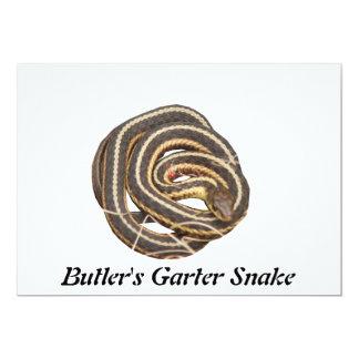 Butler's Garter Snake Personalized Invitation