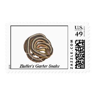 Butler's Garter Snake Stamps