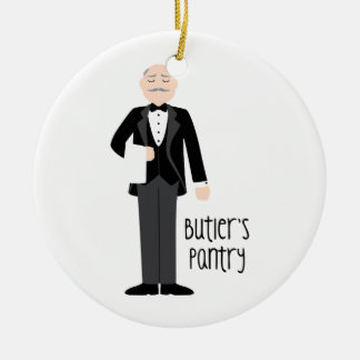 Butlers Pantry Ceramic Ornament