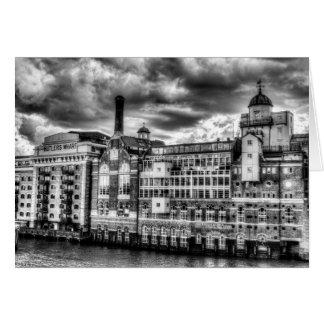 Butlers Wharf London Card