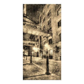 Butlers Wharf London Vintage Card