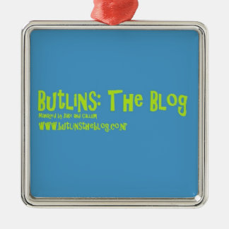 Butlins:TheBlog Signature Collection Metal Ornament