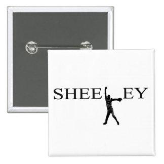 Buton de Sheeley Pin Cuadrado
