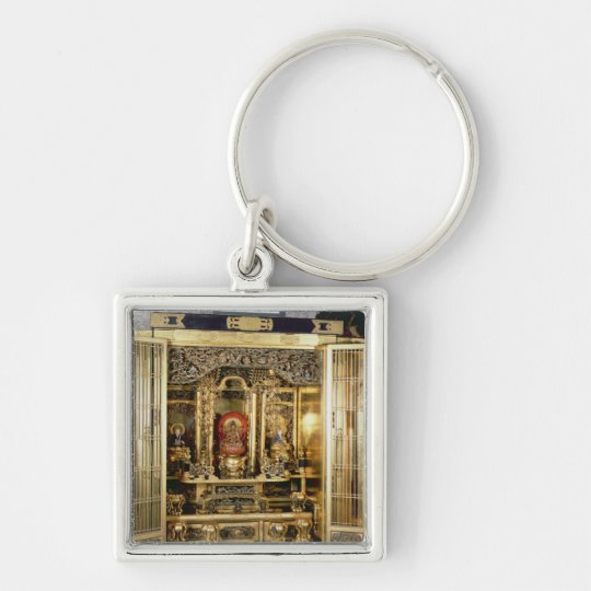 Butsudan shrine from a Damio's palace at Kyoto Keychain
