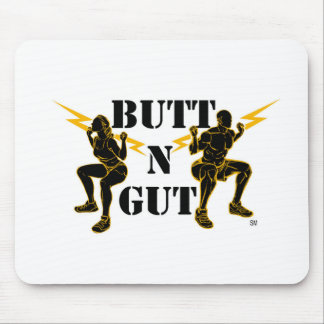 Butt N Gut Items Mouse Pad