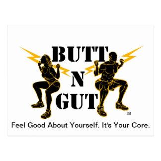 Butt N Gut Items Postcard