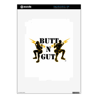 Butt N Gut Items Skins For iPad 2