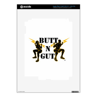Butt N Gut Items Decal For iPad 3