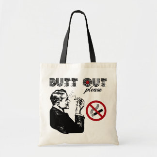 Butt Out. Please Tote Bag