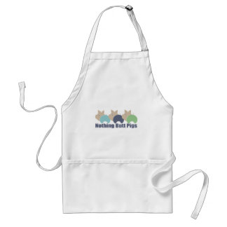 Butt Pigs Adult Apron