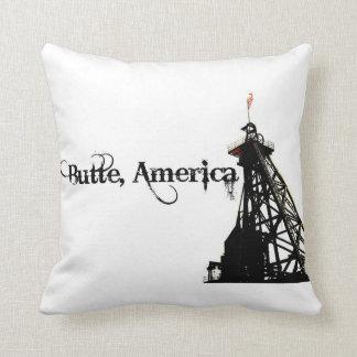 Butte America Throw Pillow