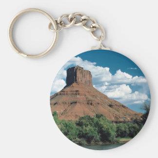 Butte, Colorado River, east central Utah, U.S.A. Key Chains
