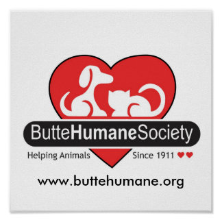 Butte Humane Society Poster