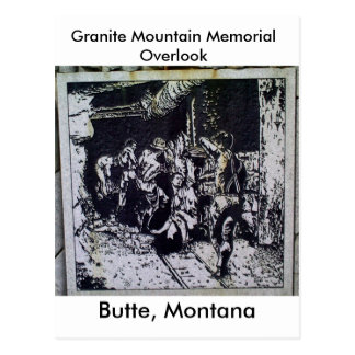 Butte Miners Postcard