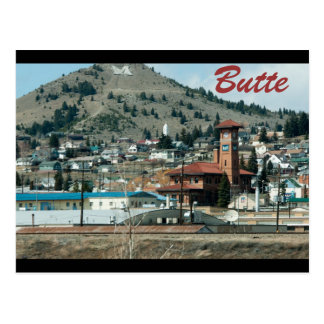 butte, mt postcard