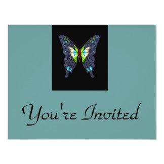 butteflies and moths card