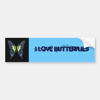 butteflies y polillas pegatina para auto