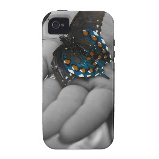 Buttefly a disposición vibe iPhone 4 funda