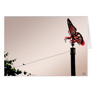 Buttefly Revenge Card
