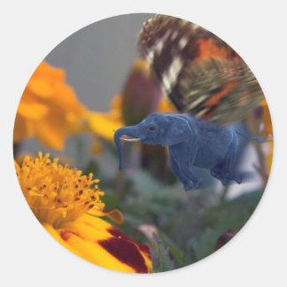 Buttephant Classic Round Sticker