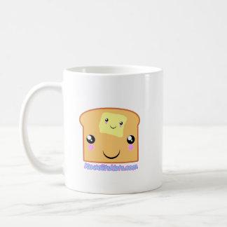 Butter and Toast cute Kawaii friends mug