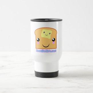 Butter and Toast Kawaii friends Travel Mug