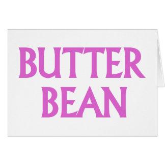 Butter Bean Card