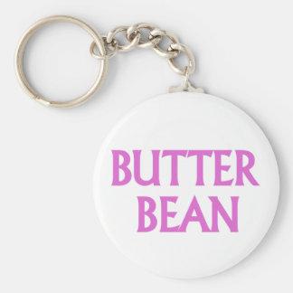 Butter Bean Keychain