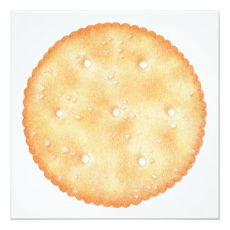 "Butter Biscuit  5.25"" Square Invitation"