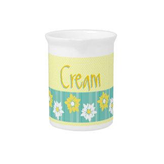 Butter Blossoms Cream Pitcher