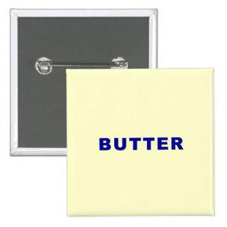 Butter Pinback Button