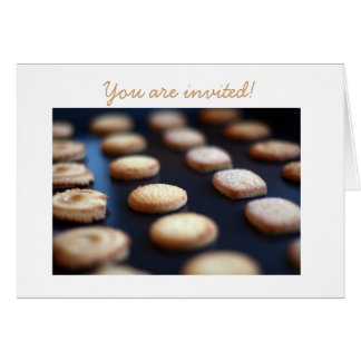 Butter Cookies Collection Collection Invitation