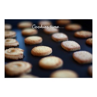 Butter Cookies Collection poster print