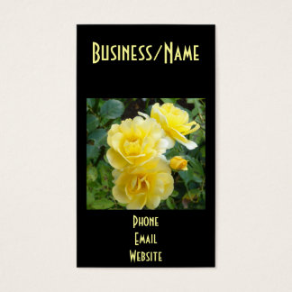 Butter Cream Roses Business Card